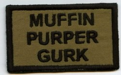 Muffin Purper Gurk-Patch