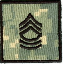 Master Sergeant Rang-Patch