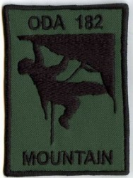 ODA 182 Mountain-Patch