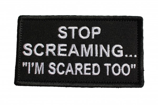 Stop Screaming...-Patch