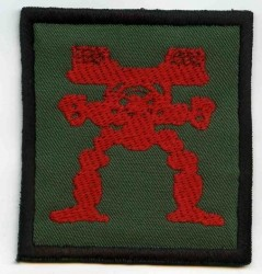 Mecha Warrior-Patch