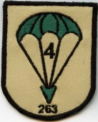 4th 263 Fallschirm-Patch