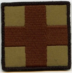 Red Cross-Patch