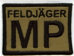 Feldjäger MP-Patch