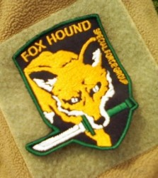 Fox Hound Vers.2 Farbig-Patch