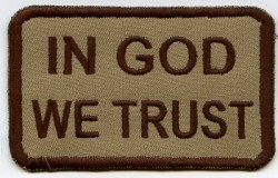 In Good we Trust-Patch