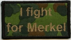 I fight for Merkel-Patch