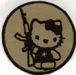 AK 47 Kitty-Patch