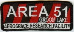 Area 51 Groom Lake-Patch