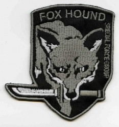 Fox Hound Vers.2 BK/Grau-Patch