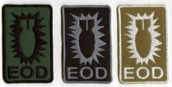 EOD Bomb-Patch