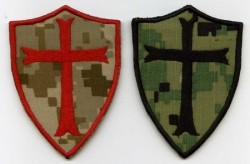 Crusader Templar Shield-Patch
