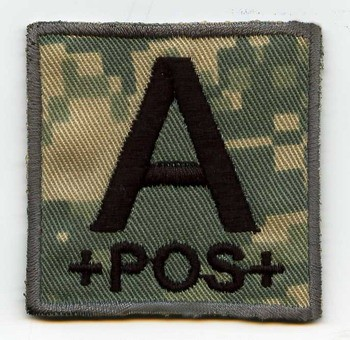 Military Bloodtype-Patch