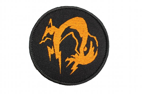 Fox Hound (Rund)-Patch