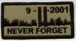 WTC NEVER FORGET-Patch