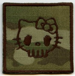 Punisher Kitty Rang-Patch