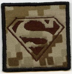 Superman Rang-Patch