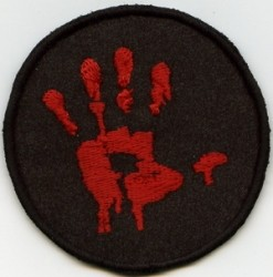 Bloody Hand-Patch