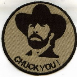 Chuck you ! -Patch