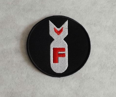 F-Bomb Rund -Patch