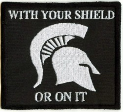With your Shield-Patch